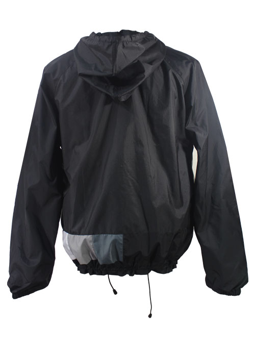 Tv Color Bar Windbreaker Jacket Back