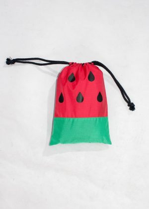 Watermelon Poncho Red Bag