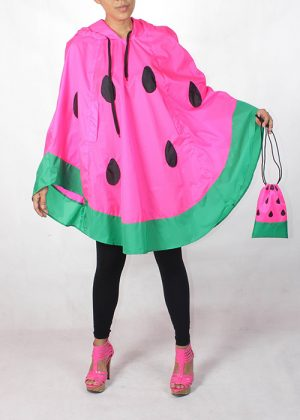 Watermelon Poncho Hot Pink