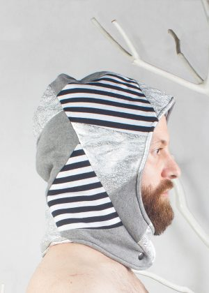 Play Hood Neck Warmer Stripe