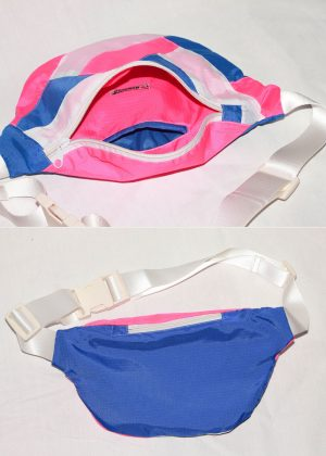 Hot Pink Colorful Fanny Pack 4