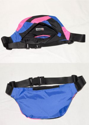 Neon Pink Black Colorful Fanny Pack 4