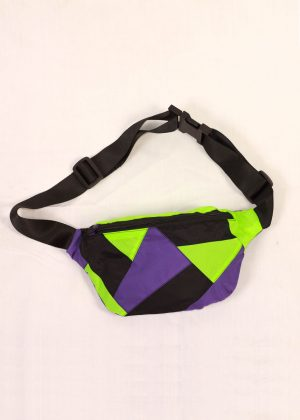 Neon green Colorful Fanny Pack 3