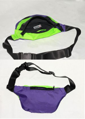Neon green Colorful Fanny Pack 4