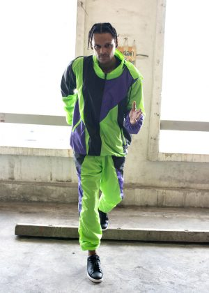 Neon Green Windbreaker Tracksuit
